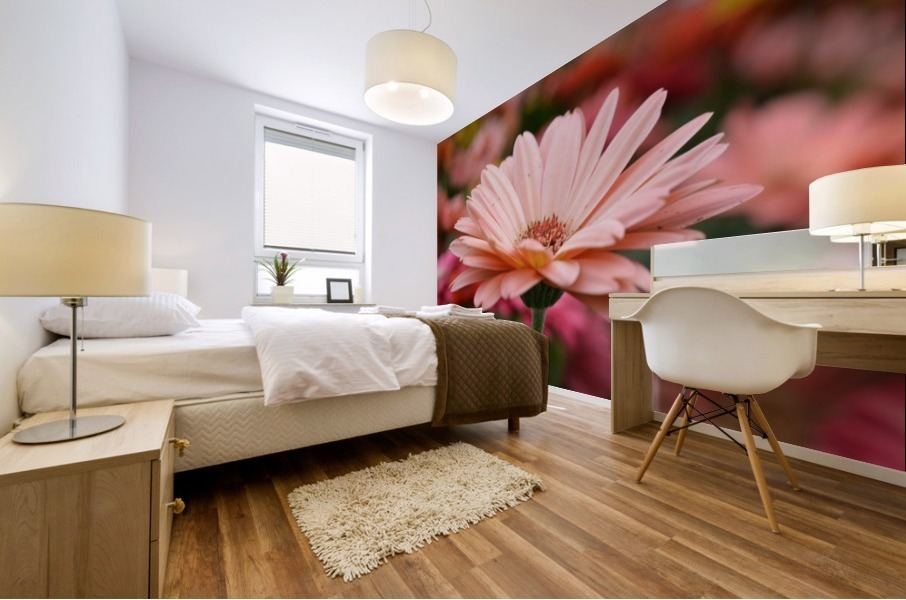 Floral Photograph  Mural print