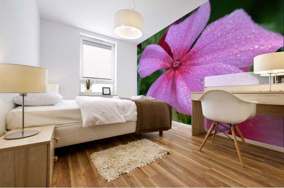 Floral Photograph  Mural print