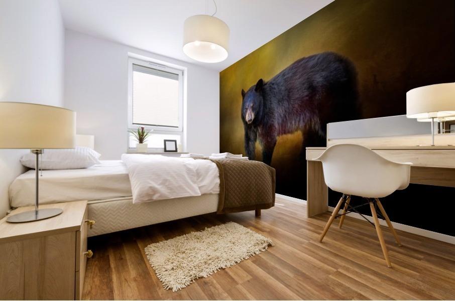 Bear Mural print
