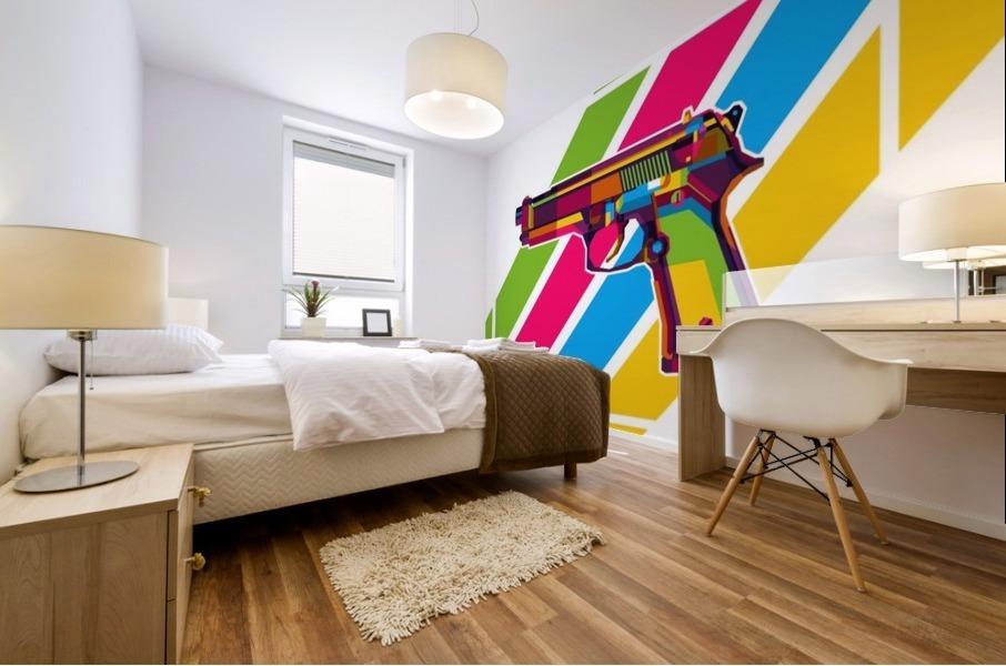 Classic Handgun Mural print
