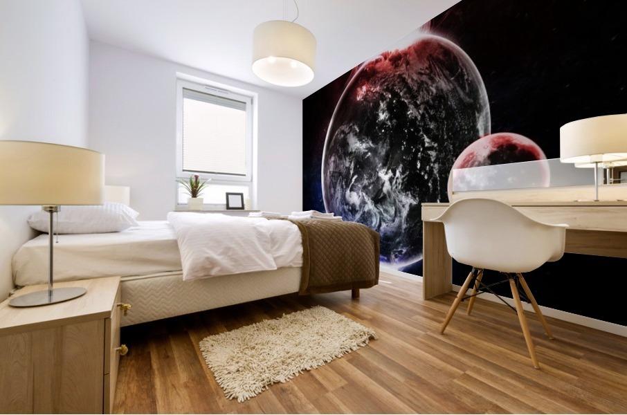 Earth Atmospheric Vapors Mural print