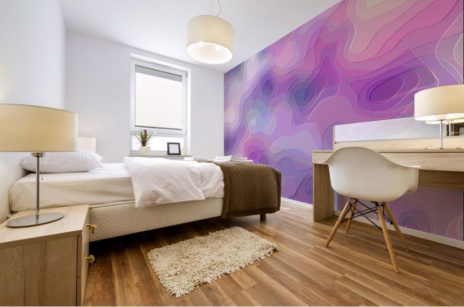 stylish decorating interior bedroom hall Living room 1 Mural print