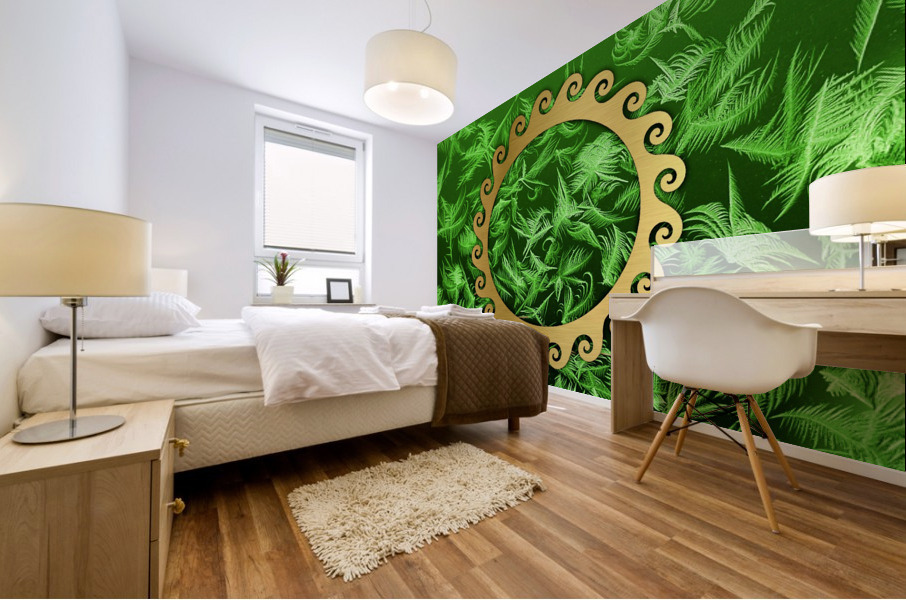Elegant home decoration room design Mural print
