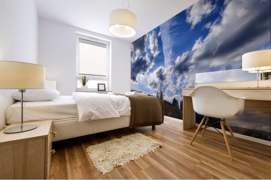 Cloudscape Mural print