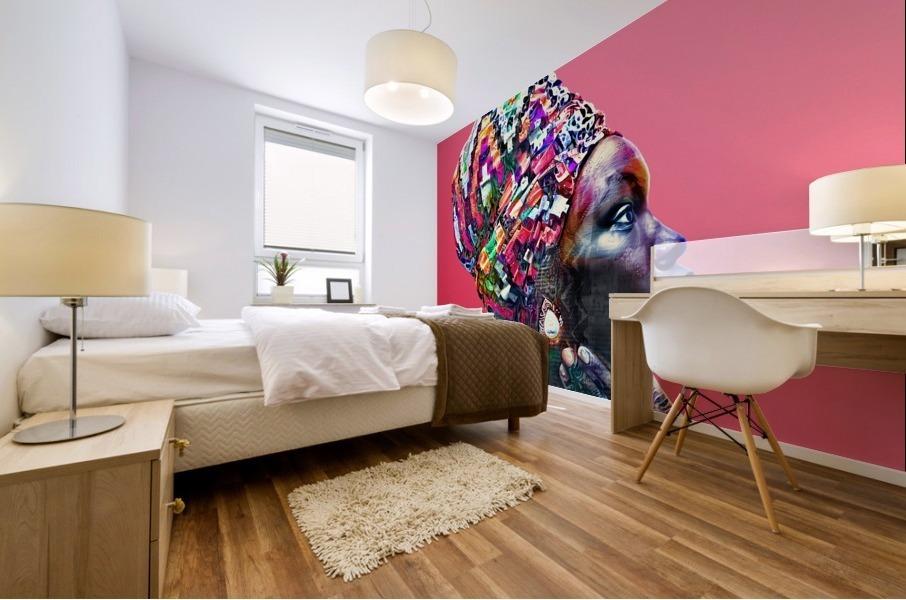 Color Through Culture VII Mural print