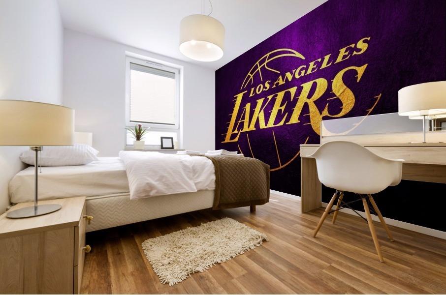 Lakers Mural print