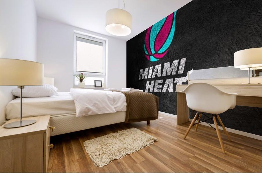 Miami Heat Vice Mural print