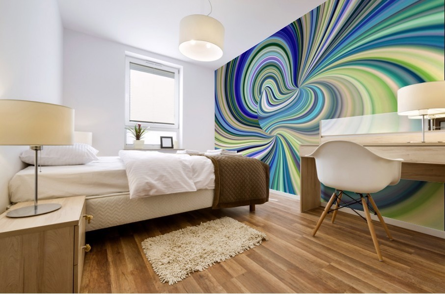 WHIRLWIND 2D Mural print