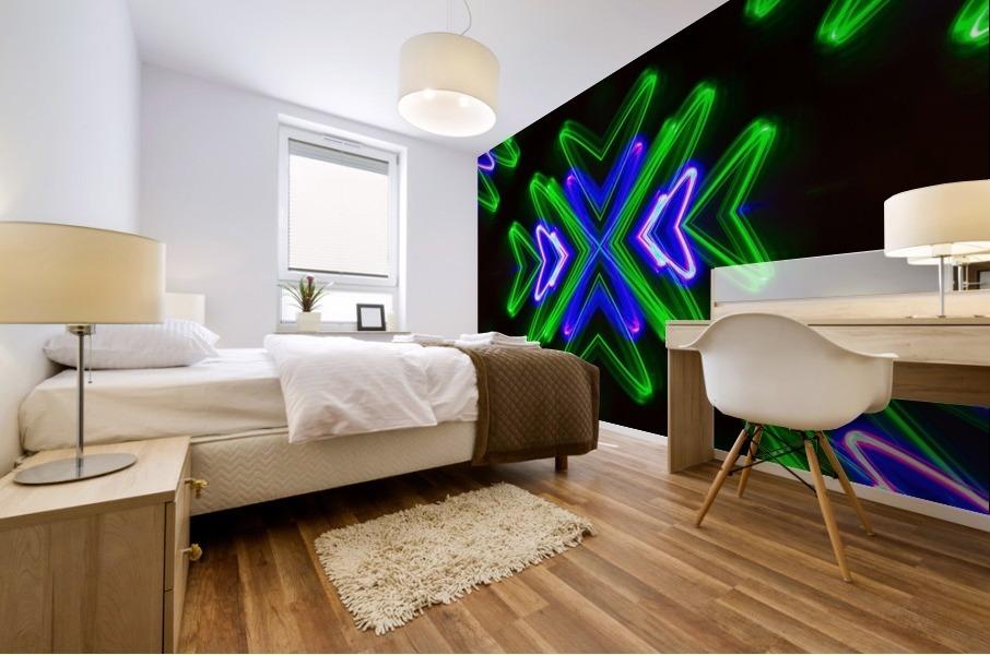 Neon Lights  Mural print