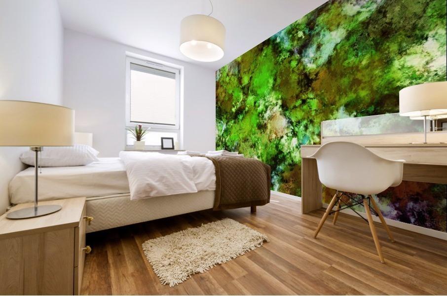 Green scene Impression murale