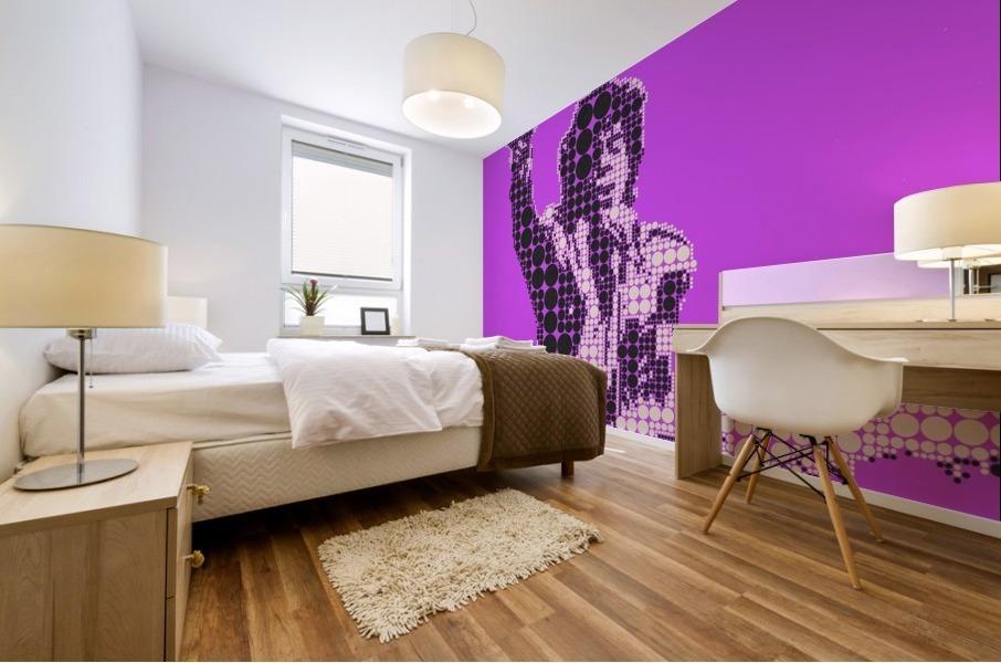 Purple Rain   Prince Mural print