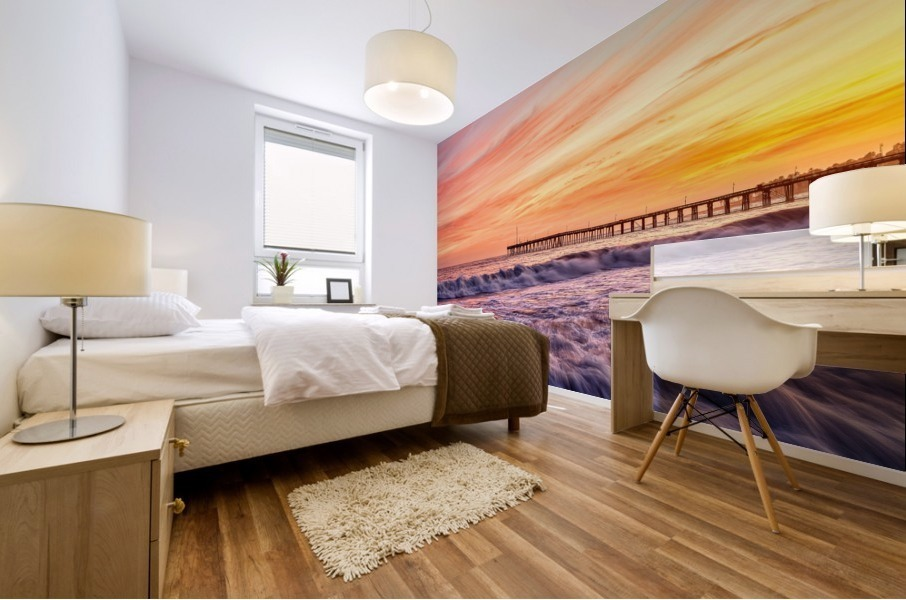 Energized Mural print