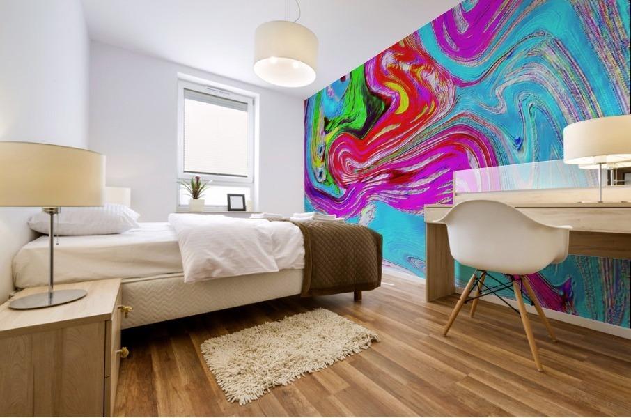 Ethereal Pleasures Mural print