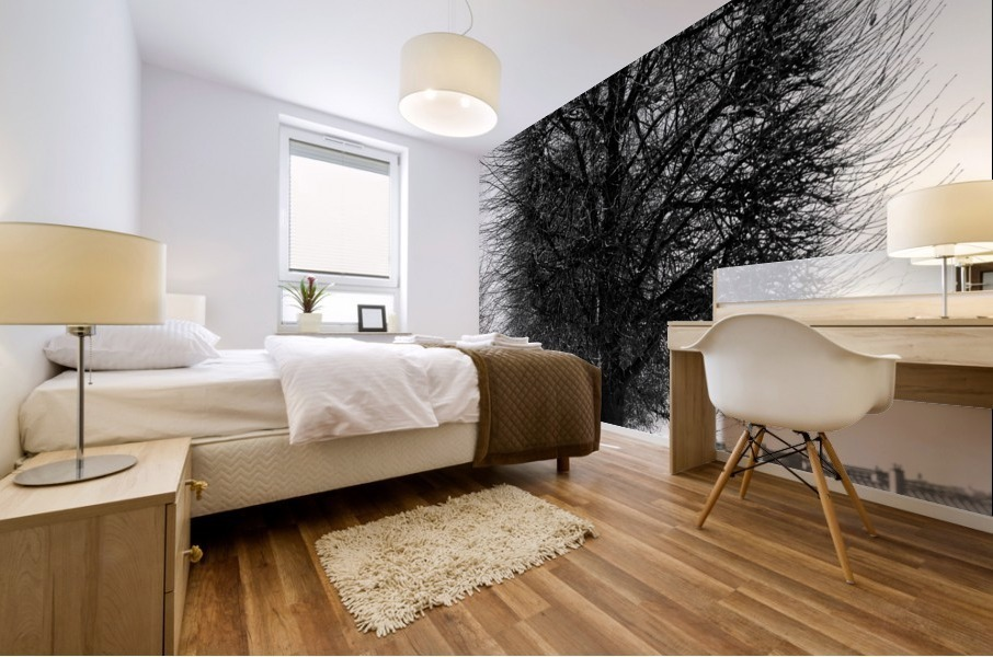 A Winters Day Mural print