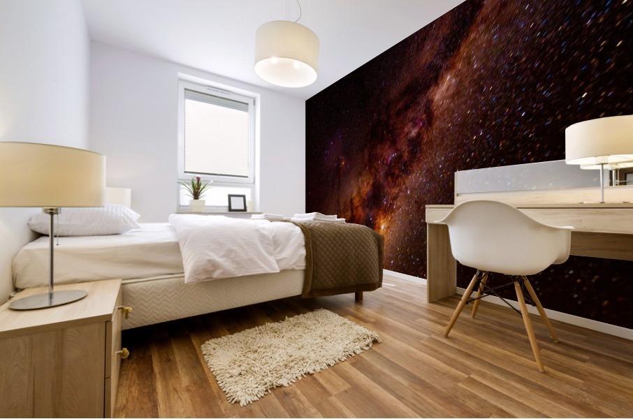 Galactic Core Explosion Mural print