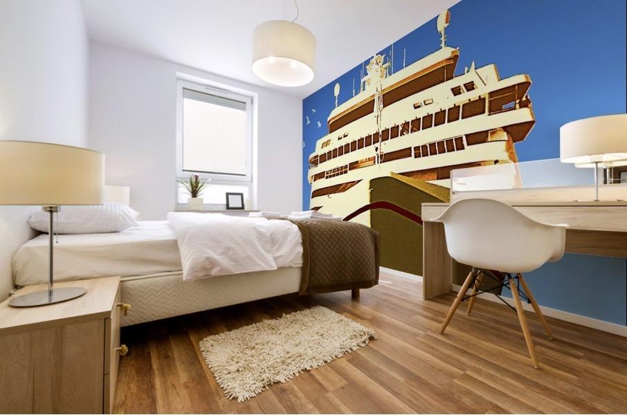 Cruise Istanbul Mural print