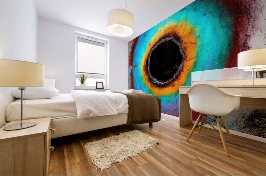 Glimpse of Black Hole No.1 Mural print