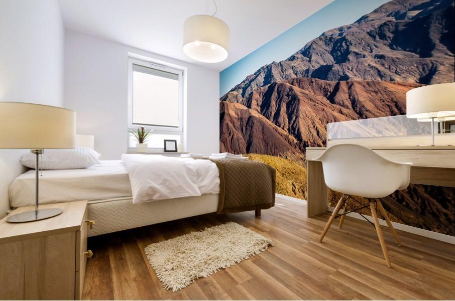 Death Valley mountain Mural print