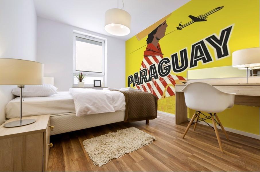 Paraguay Mural print