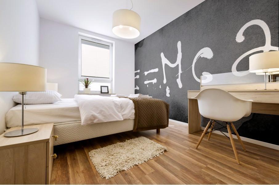 E=mc2 Mural print