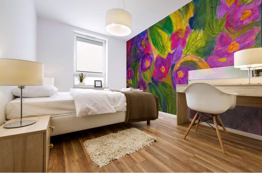 Purple Favorites Mural print