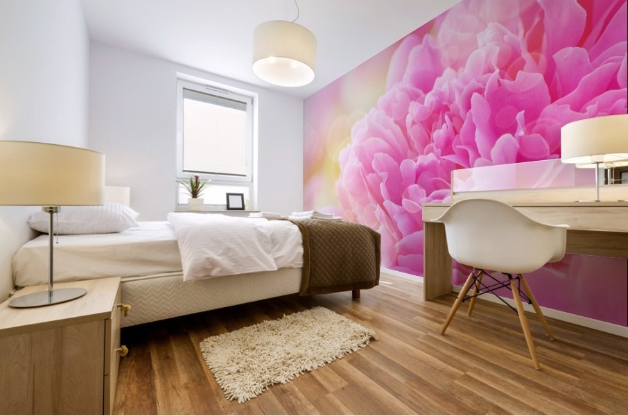 Pink Dream Mural print