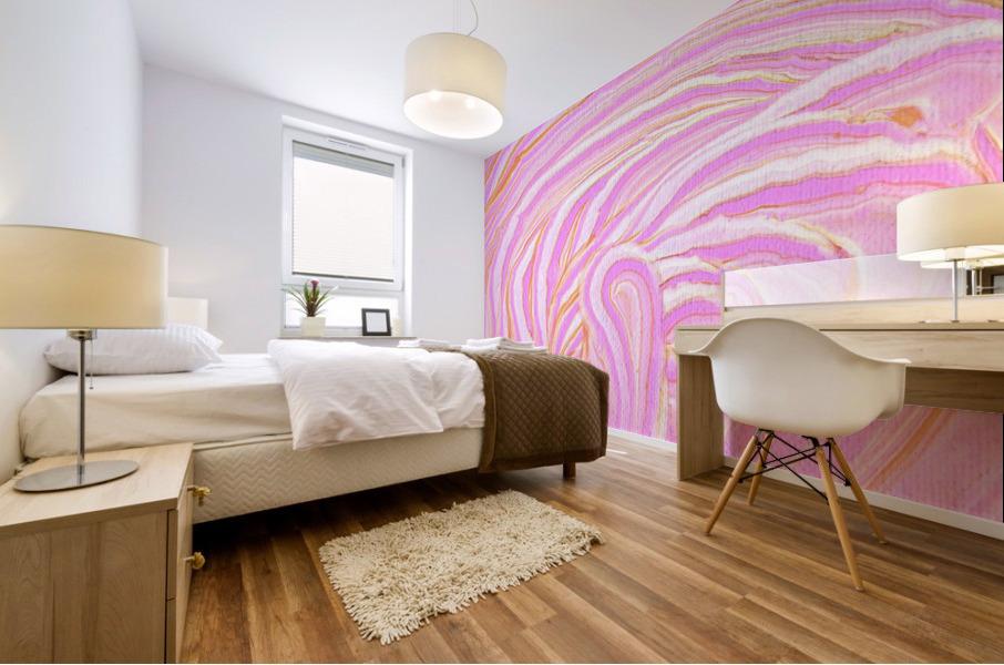 Pink Mural print