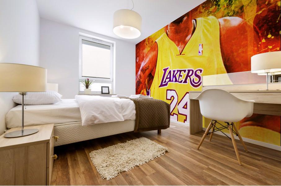 Kobe Bryant Mural print