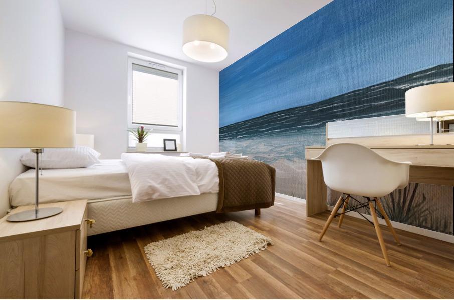 Ocean side Mural print