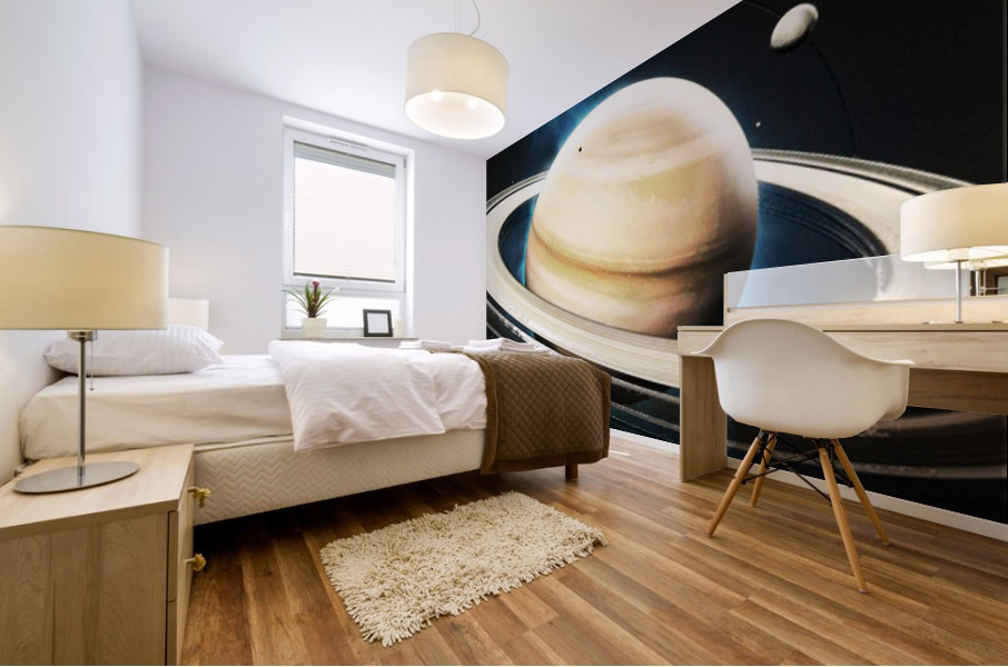Destination Saturn Mural print