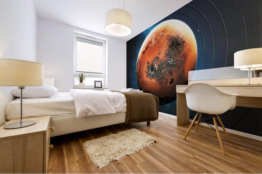 Destination Mars Mural print
