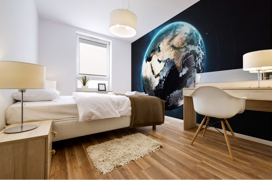 Destination Earth Mural print