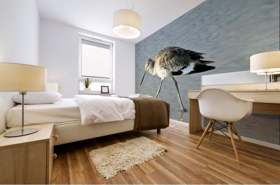 Ba Bum Bird Mural print