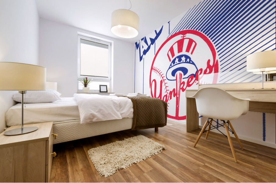 1988 New York Yankees Art Mural print