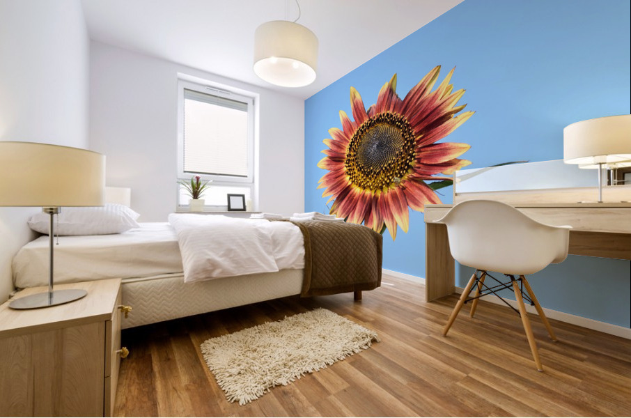 outstretched Mural print