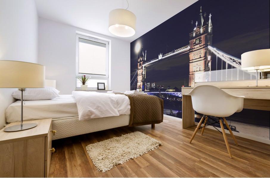 London by Night Mural print