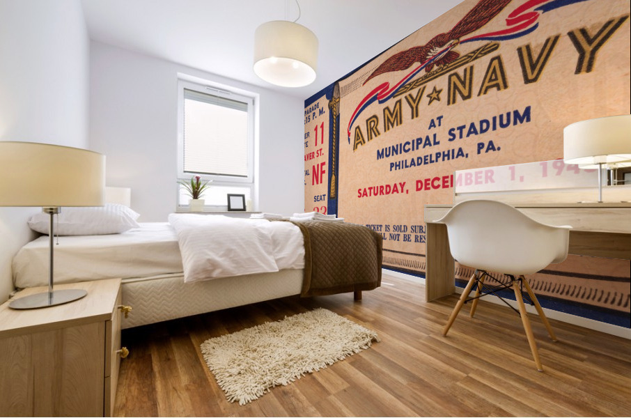 1945 Army Navy Game of the Century Mural print