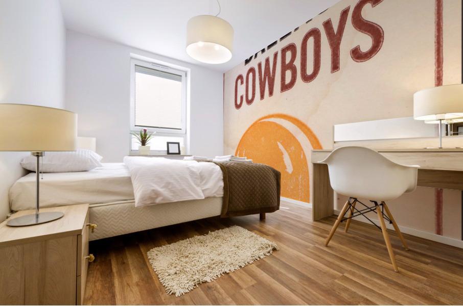 1969 Cleveland Browns vs. Dallas Cowboys Mural print
