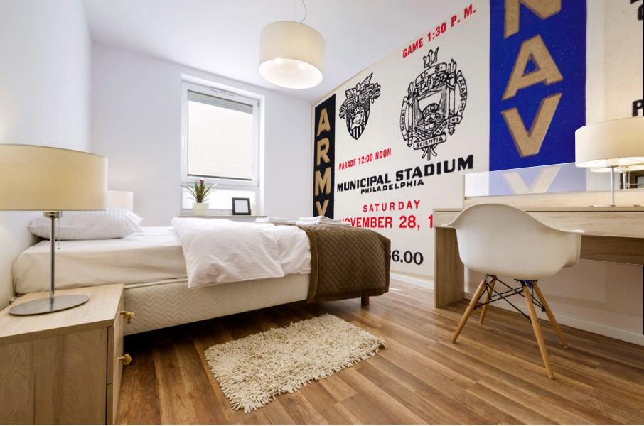 1959 Army Navy Game Ticket Mural print