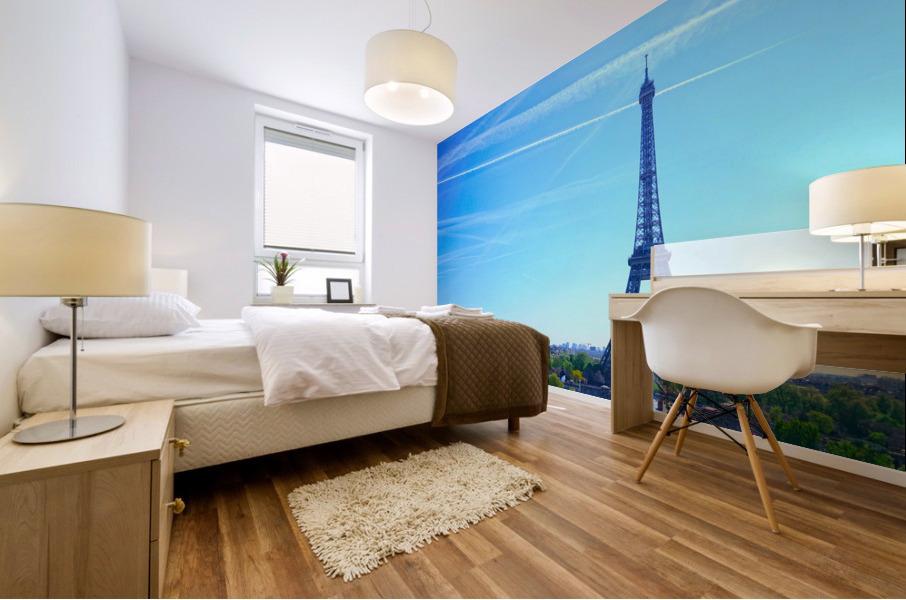 Eiffel Tower Mural print