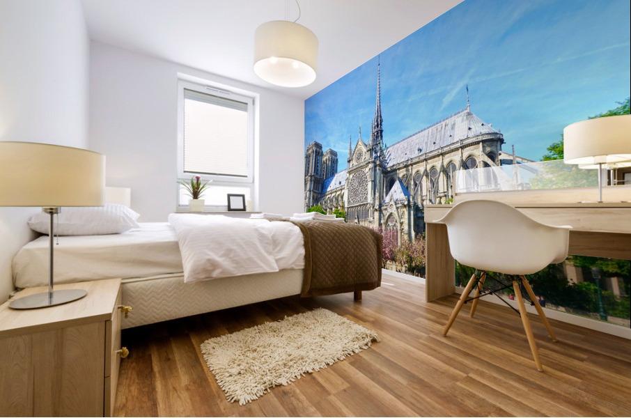 Notre Dame @ Paris Mural print