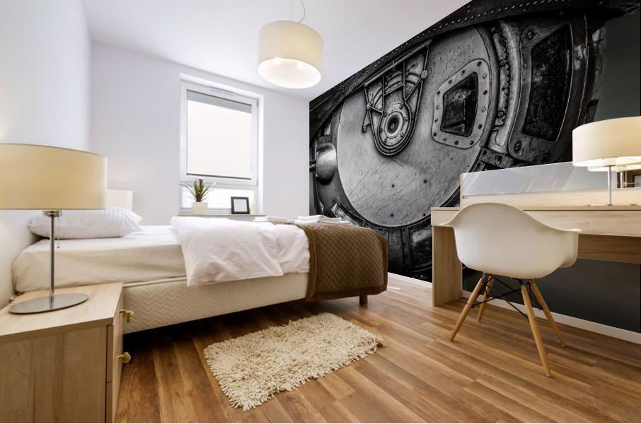 Ball Turret Mural print