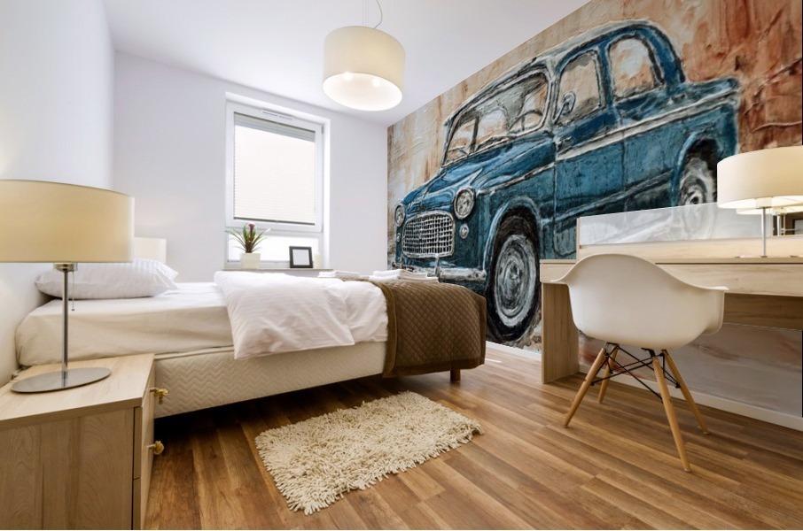 1960 Fiat 1100 103 H Mural print