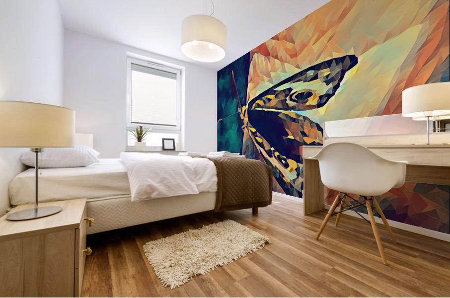 butterfly art Mural print