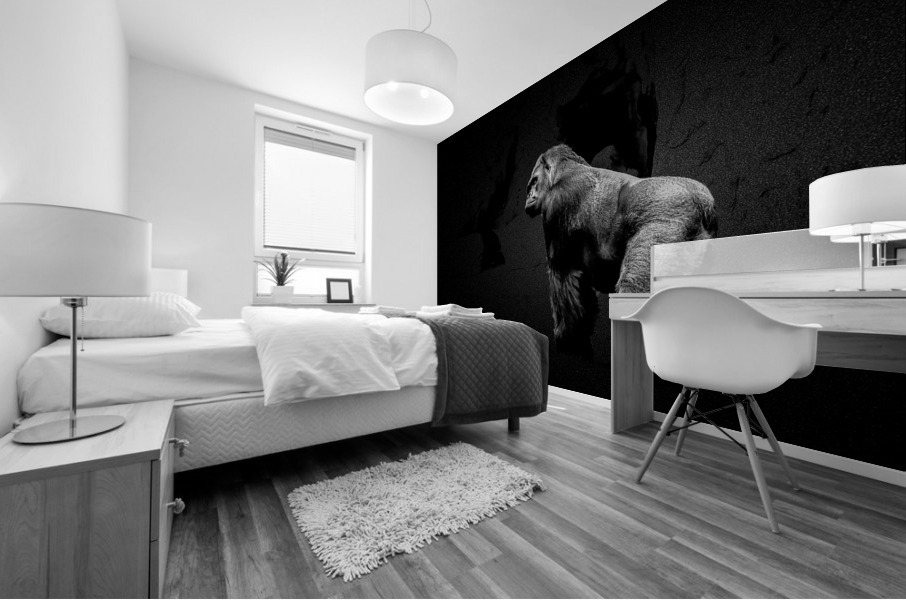 Silverback Gorilla Edit Edit Mural print