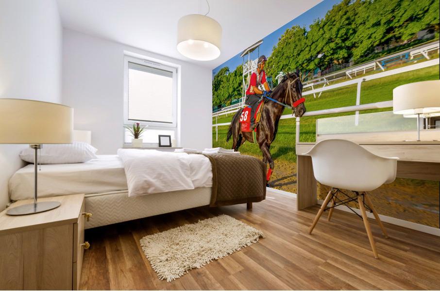 Racehorse01 Mural print