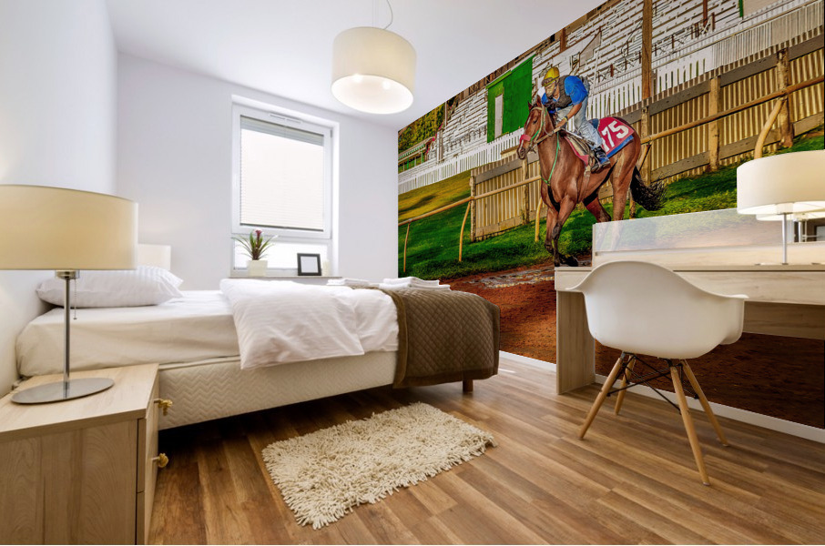 Racehorse02 Mural print
