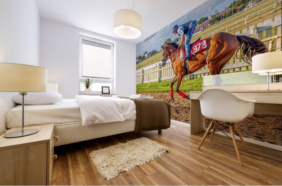 Racehorse06 Mural print
