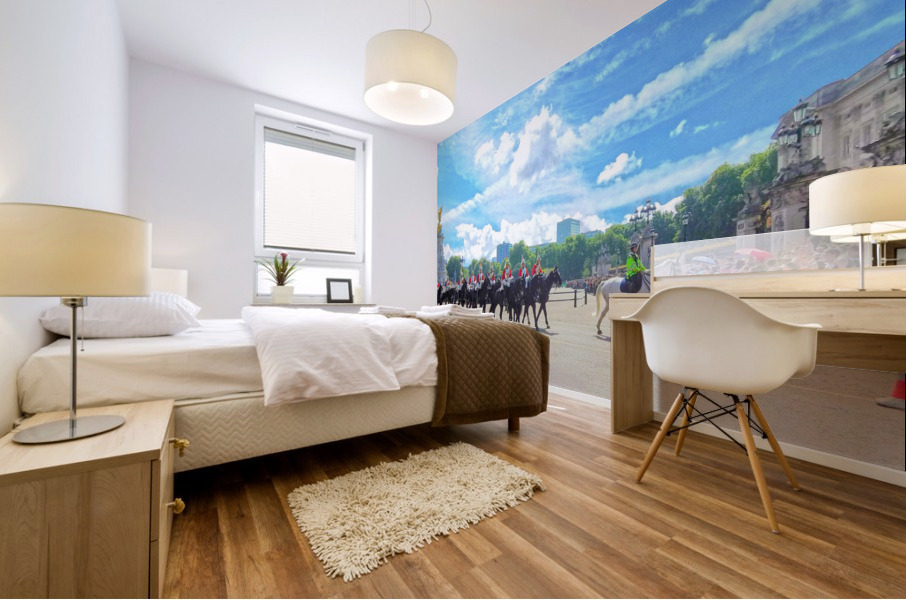 Changing of the Guard London United Kingdom Mural print