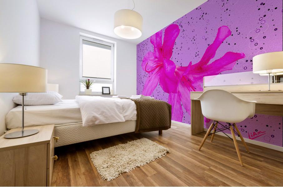 Think Pink Mural print
